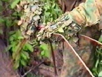 Маскировка снайпера