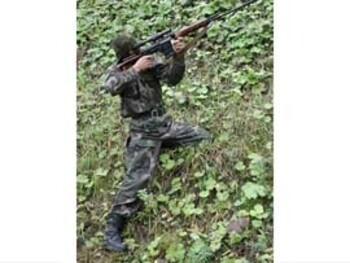 Приёмы стрельбы в горах