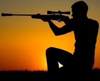 Пристрелка снайперской винтовки