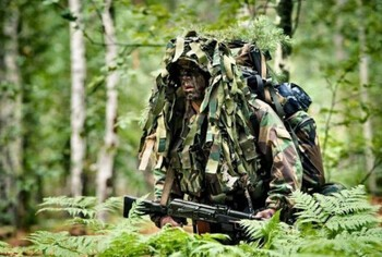 Формы подготовки солдата-разведчика