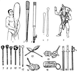 История холодного оружия. Самое первое оружие