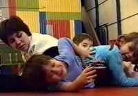 Занятия с маленькими детьми на основе единоборств