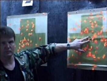 Наработка техники стрельбы с места. Техника стрельбы «Молот».