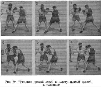 Борис Денисов. Техника — основа мастерства в боксе. Часть 2б. Мастерство в боксе. Техника ударов и защит. Группа прямых ударов